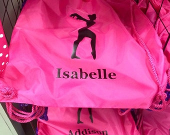 Personalized Nylon Drawstring Bag