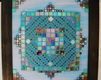 Into The Mystic Framed Mosaic