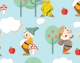 Disney Snow White and the 7 Dwarfs Fabric