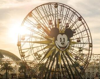 Mickey's Fun-Under-the-Sun Wheel, California Adventure