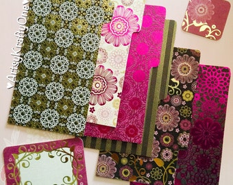 Planner Dividers (set of 6 with tabs, for medium/personal size)