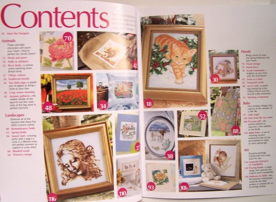 ultimate cross stitch projects patterns colorful and