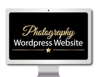 Photography Wordpress Website- Blog- Galleries- Social Media- Professional