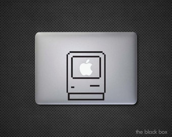 Apple vintage Macintosh Macbook decal - Macbook sticker