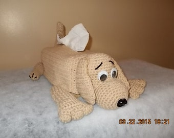 Puppy Tissue Cover