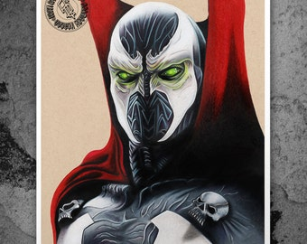 Spawn - Illustrated Gicleé Print