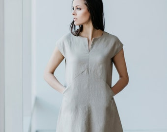 Linen Dress Motumo 15S3