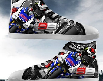 New Design Lorenzo 99 Hi Tops Canvas Shoes for Men and Women