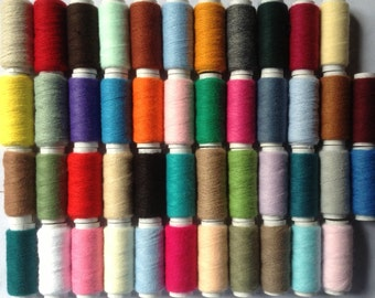 Webster Craft Pack of 46 Acrylic Punch Needle Embroidery Yarns