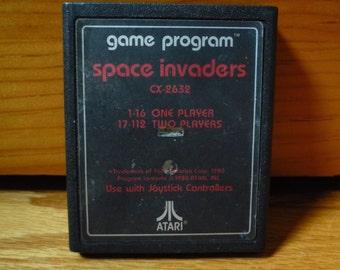FREE SHIPPING Space Invaders (Atari 2600, 1980) Cartridge