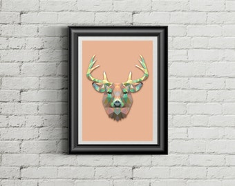 • Poster The deer