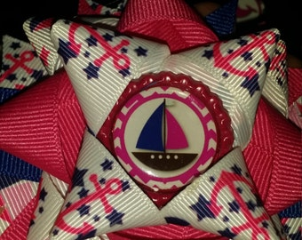 nautical boutique style bow