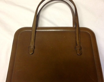 Golden Caramel Saks Fifth Avenue Bag