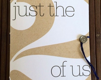 Just the 2 of Us, journal