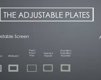 Photo Booth Plate for  iPad Series for ModiBooth