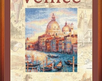"Cross Stitch Kit by RIOLIS ""Cities of the World. Venice»"