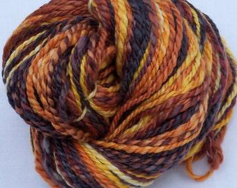 Handspun- Polworth/ Silk- 130 Yards