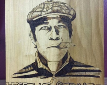 Custom Woodburning from a Picture