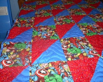 Marvel Patchwork Quilt