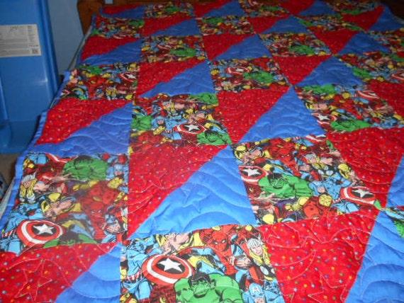 Marvel Patchwork Quilt : marvel quilt - Adamdwight.com