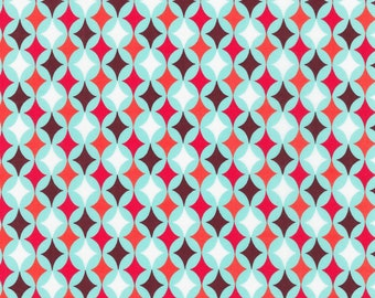 Calico Diamond Cotton Fabric. - 1 yard -