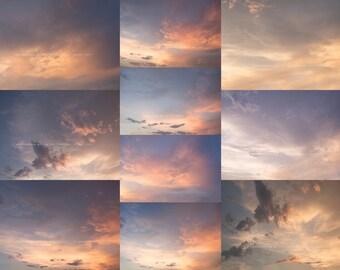 Sunset Cloud Overlay