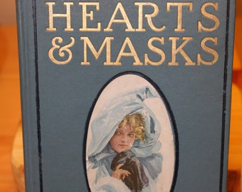 Vintage Hearts and Masks Book