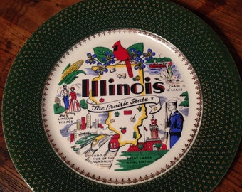 Illinois State Plate: 1/2 off sale!