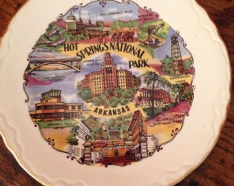Hot Springs national park, Arkansas, State Plate:1/2 off!