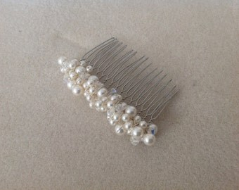 Claudia cluster bridal haircomb