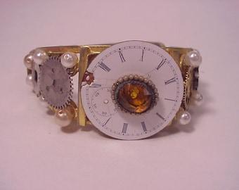 Steampunk Watchface Bracelet