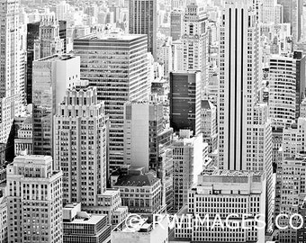 New York City Manhattan Fine Art Photography Black and White Photo Print (Unframed, Canvas, Framed, Metal or Acrylic)