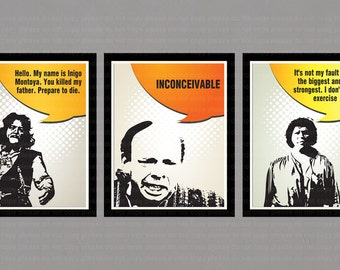 INSTANT DL The princess Bride movie poster   - printable 8x10 inch jpeg - digital file