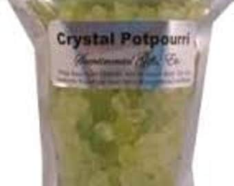 Crystal Potpourri 1 lb stand up pouch with refresher oil
