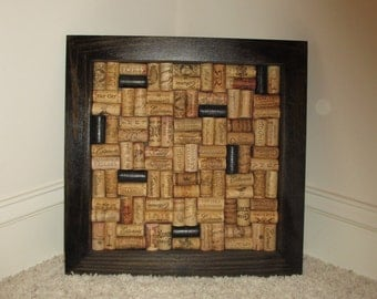 Wine Cork Serving tray or wall hanging