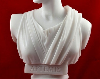 artemis diana bust greek statue nature moon goddess NEW