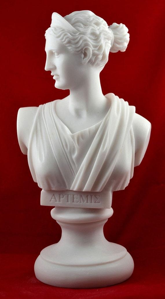 artemis diana buste statue grecque nature d esse de la lune. Black Bedroom Furniture Sets. Home Design Ideas