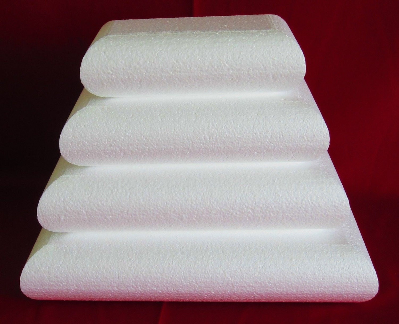 Foam Cake Dummy Set 4 Pc Rectangle Pillow 10 By