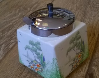 Midwinter Covered Jam Pot