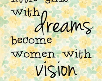 Women with Vision print