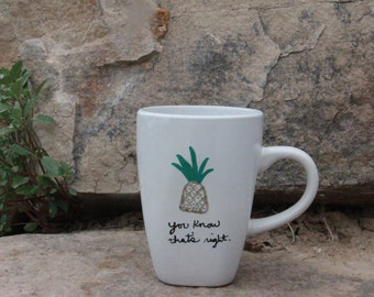Psych Pineapple Mug