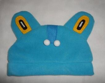 Froakie Inspired fleece hat