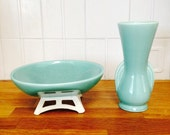 Don Confrey bowl | Aqua Mid Century Modern Bowl | Candy Dish Display Dish | Modern Clean Lines Light Blue