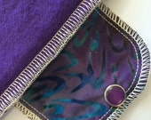 Organic Daypad Moonpads Washable Cotton Fabric Reusable Cloth Menstrual Pads - Bali