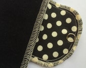 Organic Pantyliner Moonpads Reusable Cloth Menstrual Pads - Polka Dot