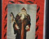 PATTERN, Paper Version- DANTE, make your own Magical Wizard Cloth Doll