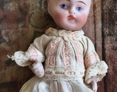 Bisque Vintage Doll/  1930's doll/  Antique Doll/  Collectible doll