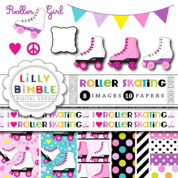 Watch more like Roller Skate Clip Art For Invitations
