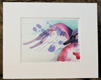 Swan - Original Drawing