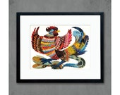 The Rooster Farmhouse Kitchen Print